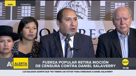 Nuevo Perú exige reconfiguración de Mesa Directiva y comisiones tras renuncias en Fuerza Popular