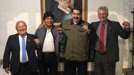 Evo Morales dice que la OEA