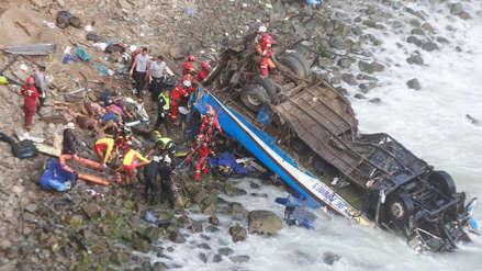 Accidente en Pasamayo: Un año después, los deudos de esta tragedia siguen esperando justicia