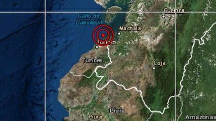 Tumbes | Sismo de magnitud 4.0 sacudió Zarumilla esta noche