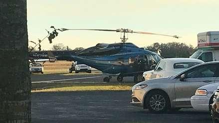 Un hombre fue decapitado por un helicóptero en un aeropuerto de Florida