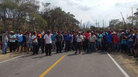 Lambayeque: dos pobladores y un policía resultaron heridos durante desalojo en Batangrande