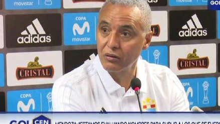 Alexis Mendoza sobre la Libertadores: