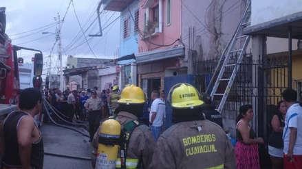 Mueren 18 personas en incendio de una clínica de adicciones en Guayaquil