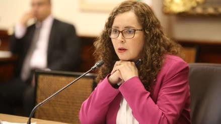 Rosa Bartra insiste en que su bancada no ha demorado proyectos del Ejecutivo: