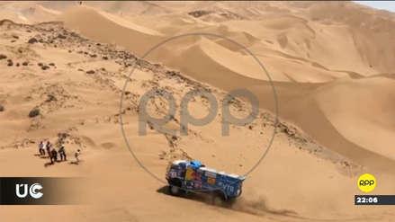 Un espectador del Rally Dakar 2019 fue atropellado por un camión en carrera