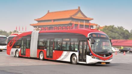 Pekín busca implementación de buses autónomos en sus calles para 2022