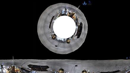 Robot chino envía la primera imagen panorámica de la cara oculta de la Luna