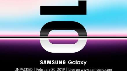 Confirmado: el Galaxy S10 será presentado el 20 de febrero