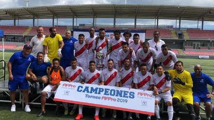 Perú venció a Costa Rica y se coronó campeón del FIFPro América 2019