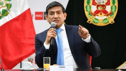 Ministro del Interior anunció que miembros de la seguridad de Pedro Chávarry serán separados de la Policía