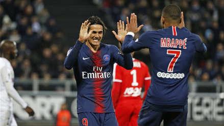Sin Neymar, PSG goleó al Amiens y sigue como solitario líder de la Ligue 1