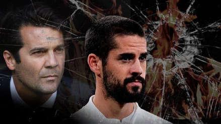 ¿Se cansó? Santiago Solari habló sobre la posible salida de Isco del Real Madrid