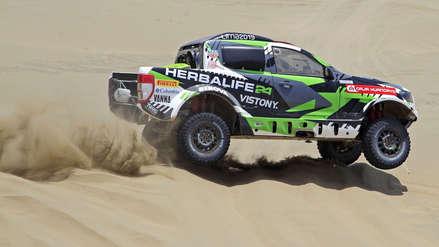 Dakar 2019: Nicolás Fuchs y Emilio Choy son los mejores ubicados hasta la quinta etapa del rally