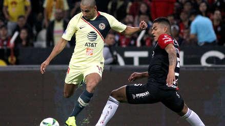 El campeón América venció 2-1 al Atlas de Anderson Santa María por la Liga MX
