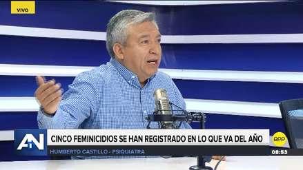 Aumentar el castigo al feminicida no resuelve el problema porque no le teme, según psiquiatra
