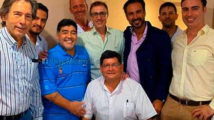 Diego Maradona fue dado de alta tras ser operado y se alista para volver a dirigir