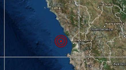 Sismo de magnitud 4.0 sacudió Cañete esta tarde