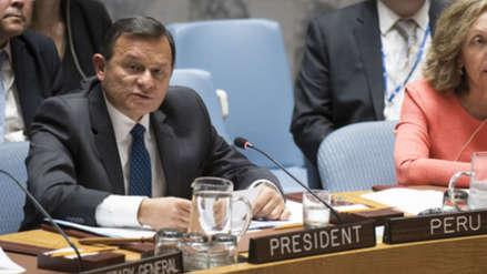Perú presidirá nuevamente el Consejo de Seguridad de la ONU