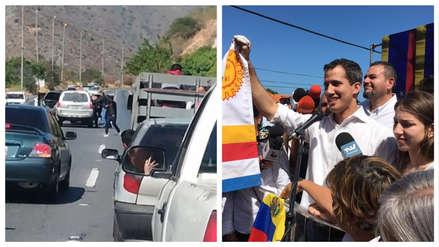 Gobierno de Venezuela destituye a agentes y califica la detención de Guaidó como un acto
