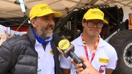 Dakar 2019: Lucas y Jacques Barrón, la dupla peruana que quedó fuera, pero igual hizo historia