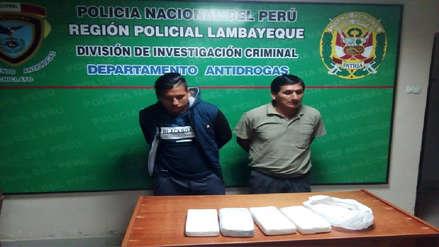 Chiclayo: decomisan droga valorizada en más de 15 mil soles