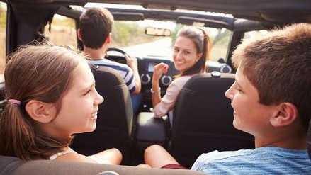 ¿Cómo entretener a los niños en un viaje largo en auto?