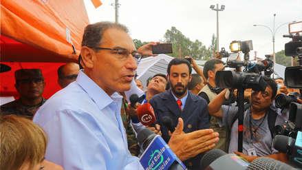 Aniego en San Juan de Lurigancho: Vizcarra designó a tres ministerios el apoyo a damnificados