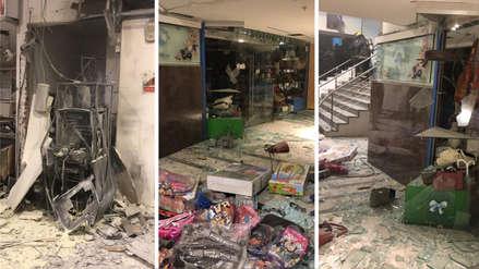 Intentó robar un cajero automático, lo hizo explotar y murió tras la fuerte detonación