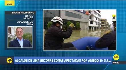 Jorge Muñoz dijo que pedirá a la Autoridad del Metro de Lima que revise cimientos de estación Pirámide del Sol