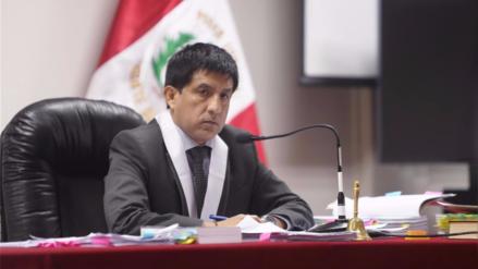 Sala aprobó apartar al juez Richard Concepción Carhuancho del caso Fuerza Popular