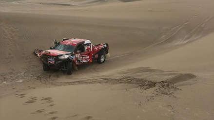 Dakar 2019 | Piloto peruano Diego Weber abandonó el rally debido a un accidente