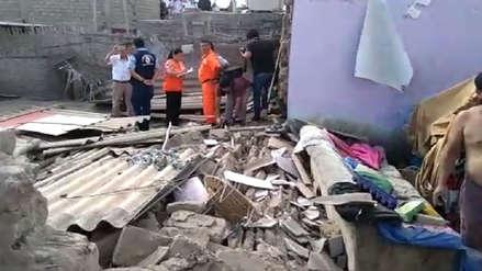 Áncash | Casa en Chimbote se derrumbó tras fuerte sismo