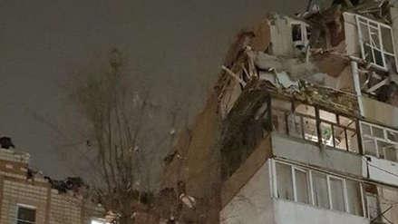 Al menos un muerto y siete heridos por una explosión en un edificio en Rusia