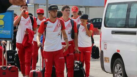 Selección Peruana Sub 20 viajó a Chile para afrontar el Sudamericano [FOTOS]