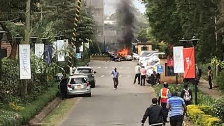 Pánico por explosión y tiroteo en un complejo hotelero de la capital de Kenia [VIDEO]