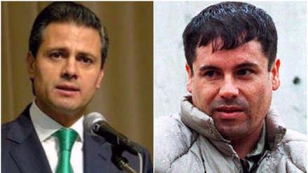 Testigo asegura que 'El Chapo' Guzmán pagó 100 millones al expresidente Enrique Peña Nieto