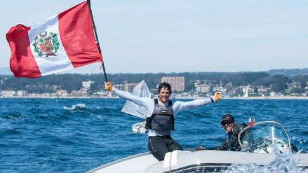 Peruano Stephano Peschiera ganó medalla de oro en el torneo de vela más importante de Estados Unidos