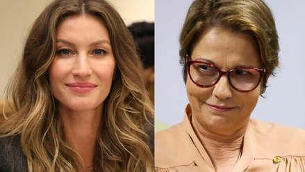 Activismo medioambiental enfrenta a Gisele Bündchen con ministra de Bolsonaro
