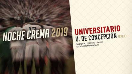 Universitario de Deportes vs. U. de Concepción: conoce el precio de las entradas para la 'Noche Crema'