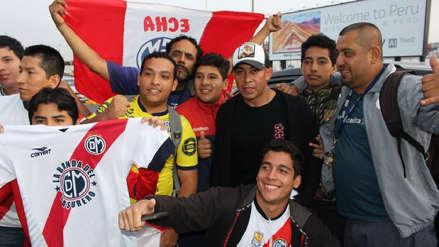Egidio Arévalo Ríos llegó a Lima para jugar por Deportivo Municipal
