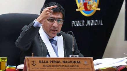 Convocan a plantón en apoyo a Richard Concepción Carhuancho