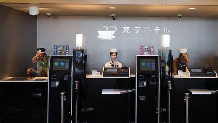 """Un hotel """"despide"""" a más de 100 robots por perturbar la tranquilidad de sus huéspedes"""