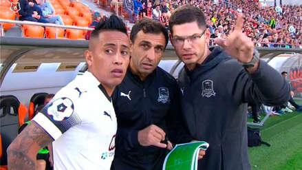 Krasnodar rechazó la oferta de Independiente y Christian Cueva seguirá en Rusia