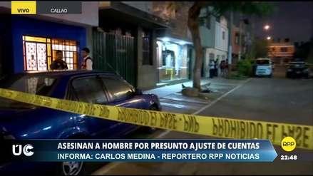 Asesinan a balazos a un hombre en la urbanización Tarapacá en el Callao