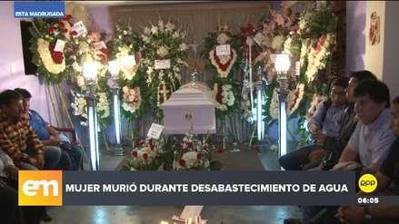 Aniego en San Juan de Lurigancho | Mujer murió cuando llevaba agua a su vivienda