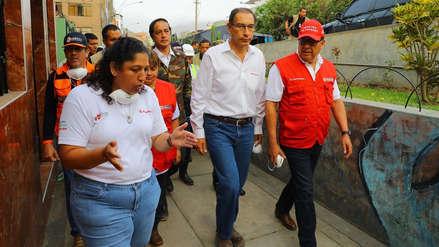 Martín Vizcarra: Obra en tramo afectado por aniego fue firmada