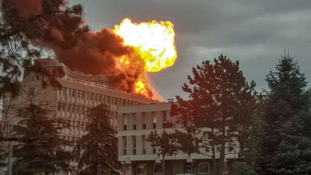 Fuerte explosión en una universidad causó pánico en ciudad de Francia [VIDEOS]