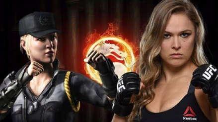 Ronda Rousey dará su voz a Sonya Blade en Mortal Kombat 11