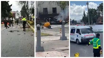 Atentado en Colombia | Las imágenes tras la explosión de un coche bomba en Bogotá